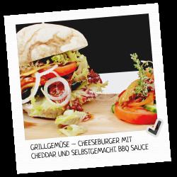 Cheddar-Grillgemüse-Cheeseb...