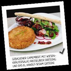 Panista: Gebackener Camembert
